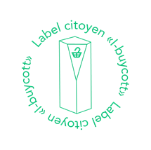 Ceci est le label citoyen élaboré par l'association de consomm'acteurs I-buycott.