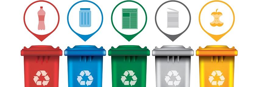 Gestes écologiques au bureau : le tri des déchets
